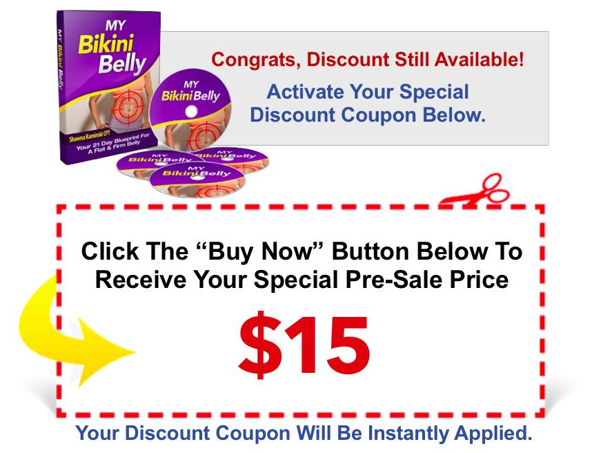 bikini Belly discount coupon